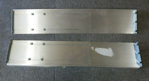 Left & Right 2U Slide Adjustable L-shaped Rack Mount Server Mounting Rail Kit